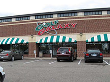 Golf Galaxy storefront. Your local sporting goods supply store in Plymouth, MN