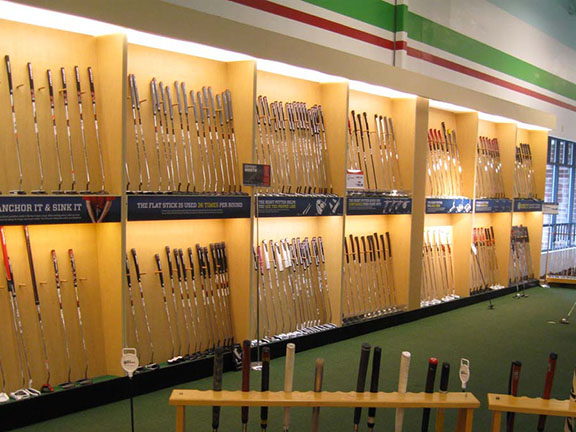 Golf Galaxy storefront. Your local sporting goods supply store in Plymouth, MN | 3002