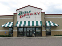 Golf Galaxy storefront. Your local sporting goods supply store in Roseville, MN
