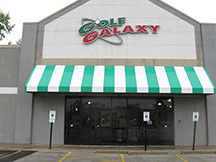 Golf Galaxy storefront. Your local sporting goods supply store in Greenfield, WI