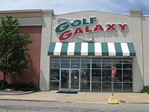 Golf Galaxy storefront. Your local sporting goods supply store in Grand Rapids, MI