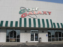 Golf Galaxy storefront. Your local sporting goods supply store in Miamisburg, OH