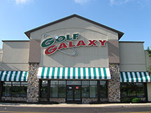 Golf Galaxy storefront. Your local sporting goods supply store in Springdale, OH