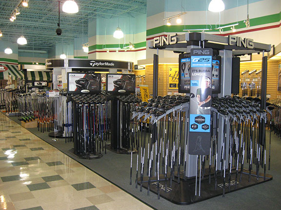 Golf Galaxy storefront. Your local sporting goods supply store in Springdale, OH   3011