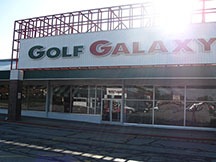 Golf Galaxy storefront. Your local sporting goods supply store in North Olmsted, OH