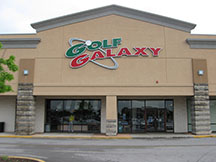 Golf Galaxy storefront. Your local sporting goods supply store in Orland Park, IL