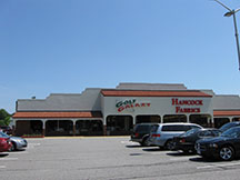 Golf Galaxy storefront. Your local sporting goods supply store in Virginia Beach, VA