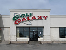 Golf Galaxy storefront. Your local sporting goods supply store in Appleton, WI