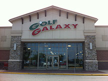 Golf Galaxy storefront. Your local sporting goods supply store in Mount Laurel, NJ