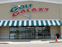 Golf Galaxy storefront. Your local sporting goods supply store in Amherst, NY