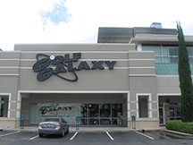 Golf Galaxy storefront. Your local sporting goods supply store in Houston, TX