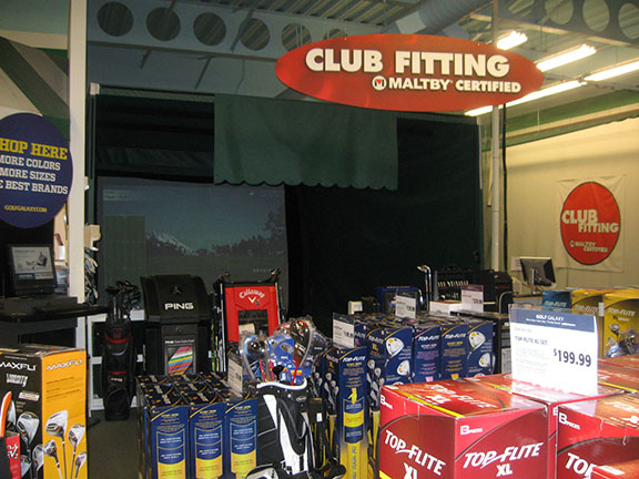 Golf Galaxy storefront. Your local sporting goods supply store in Houston, TX | 3045