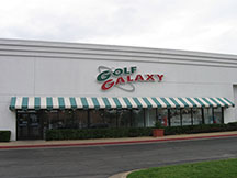 Golf Galaxy storefront. Your local sporting goods supply store in Tulsa, OK