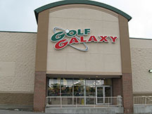 Golf Galaxy storefront. Your local sporting goods supply store in Omaha, NE