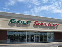 Golf Galaxy storefront. Your local sporting goods supply store in Dewitt, NY