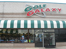 Golf Galaxy storefront. Your local sporting goods supply store in Sylvania Township, OH