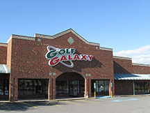 Golf Galaxy storefront. Your local sporting goods supply store in Winston Salem, NC