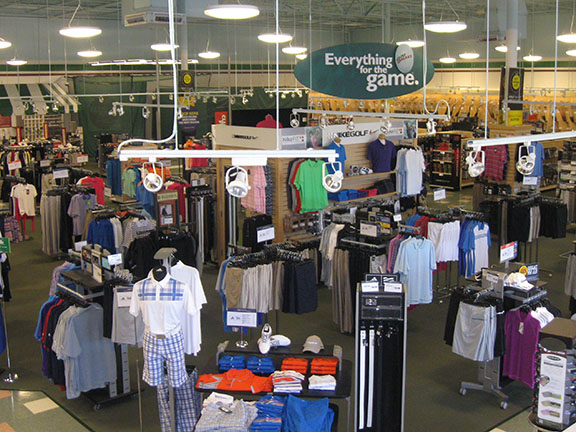 Golf Galaxy storefront. Your local sporting goods supply store in Winston Salem, NC   3072