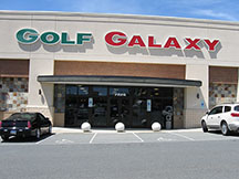 Golf Galaxy storefront. Your local sporting goods supply store in Charlotte, NC