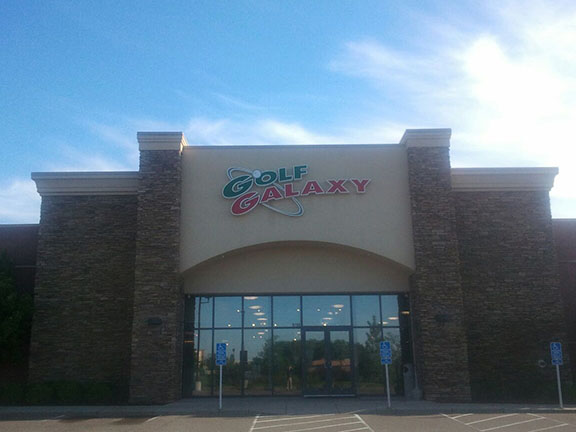 Golf Galaxy storefront. Your local sporting goods supply store in Woodbury, MN | 3076