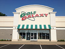 Golf Galaxy storefront. Your local sporting goods supply store in Langhorne, PA