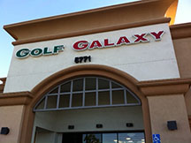 Golf Galaxy storefront. Your local sporting goods supply store in Roseville, CA