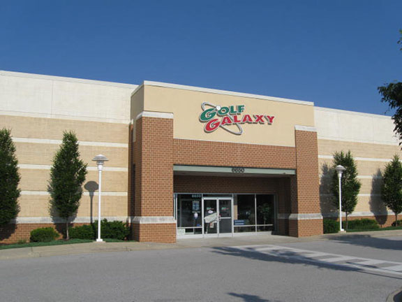 Storefront of Golf Galaxy store in Elkridge, MD