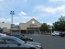 Golf Galaxy storefront. Your local sporting goods supply store in Fairfax, VA
