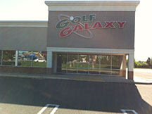 Golf Galaxy storefront. Your local sporting goods supply store in North Wales, PA