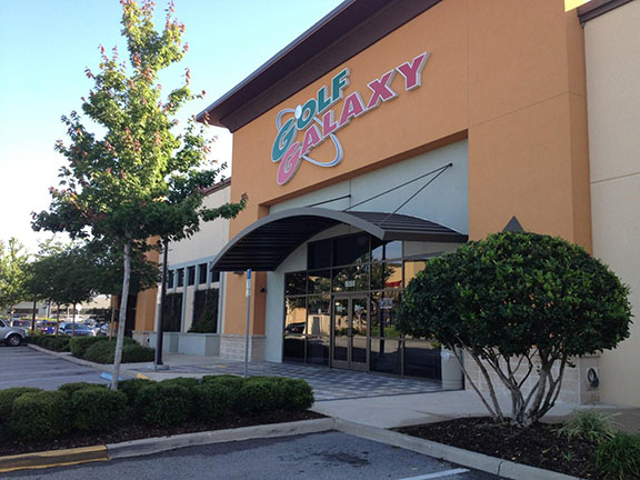Golf Galaxy storefront. Your local sporting goods supply store in Orlando, FL | 3096