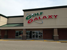 Golf Galaxy storefront. Your local sporting goods supply store in Louisville, KY