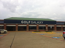 Golf Galaxy storefront. Your local sporting goods supply store in Grapevine, TX
