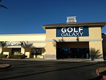 Golf Galaxy storefront. Your local sporting goods supply store in Henderson, NV
