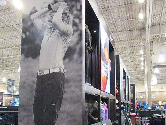 Golf Galaxy storefront. Your local sporting goods supply store in Cary, NC | 3113