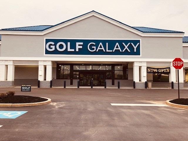 Storefront of Golf Galaxy store in Berwyn, PA