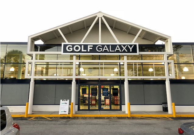 Golf Galaxy storefront. Your local sporting goods supply store in Altamonte Springs, FL