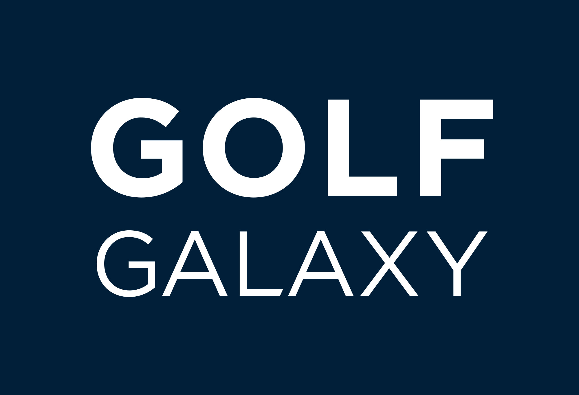 Storefront of Golf Galaxy store in Portland, OR